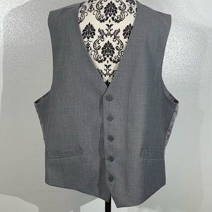 Verno Fashion 52R Gray Vest